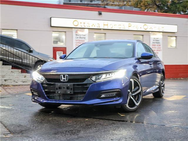 2018 Honda Accord Sport (Stk: H86070) in Ottawa - Image 1 of 29