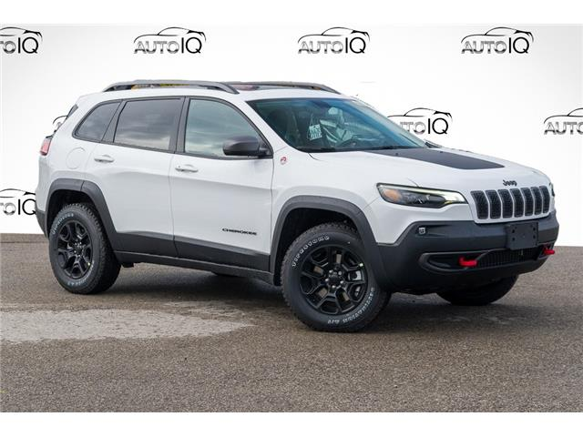 2021 Jeep Cherokee Trailhawk (Stk: 34475) in Barrie - Image 1 of 28