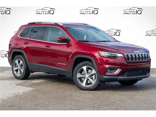 2021 Jeep Cherokee Limited (Stk: 34500) in Barrie - Image 1 of 28