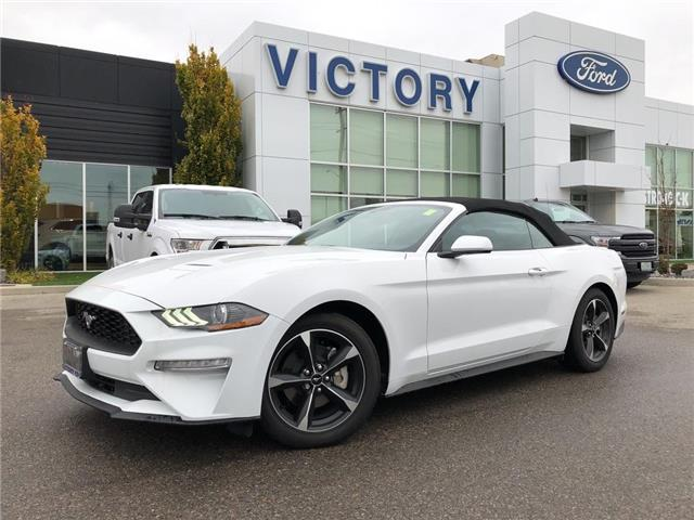 2020 Ford Mustang EcoBoost (Stk: VMU19567) in Chatham - Image 1 of 15