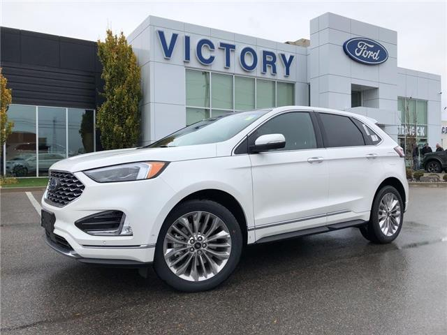 2020 Ford Edge Titanium (Stk: VEG19854) in Chatham - Image 1 of 15