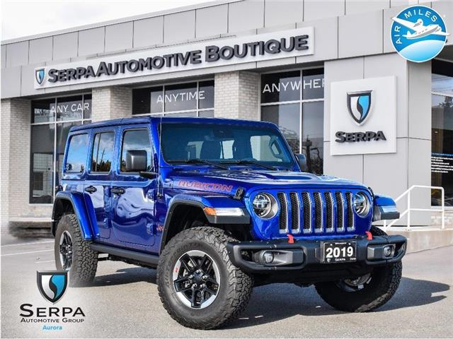 2019 Jeep Wrangler Unlimited Rubicon (Stk: CP027) in Aurora - Image 1 of 26