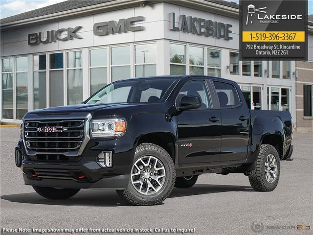 2021 GMC Canyon AT4 w/Cloth (Stk: G1022) in Kincardine - Image 1 of 23