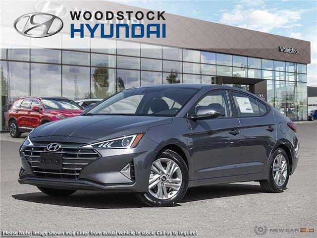 2020 Hyundai Elantra Preferred w/Sun & Safety Package (Stk: EA20001) in Woodstock - Image 1 of 23