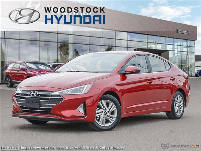 2020 Hyundai Elantra Preferred (Stk: EA20070) in Woodstock - Image 1 of 23