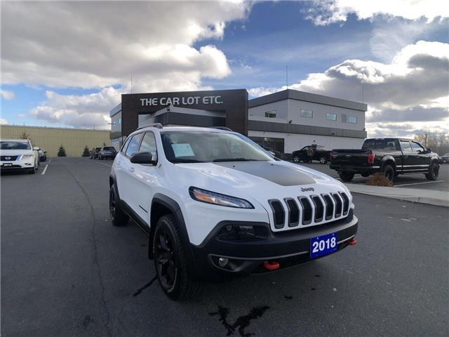 2018 Jeep Cherokee Trailhawk (Stk: 20516) in Sudbury - Image 1 of 24