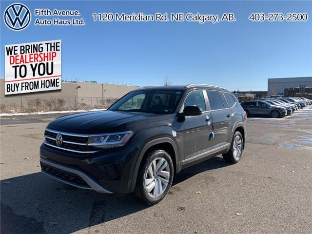 2021 Volkswagen Atlas 3.6 FSI Highline (Stk: 21037) in Calgary - Image 1 of 30
