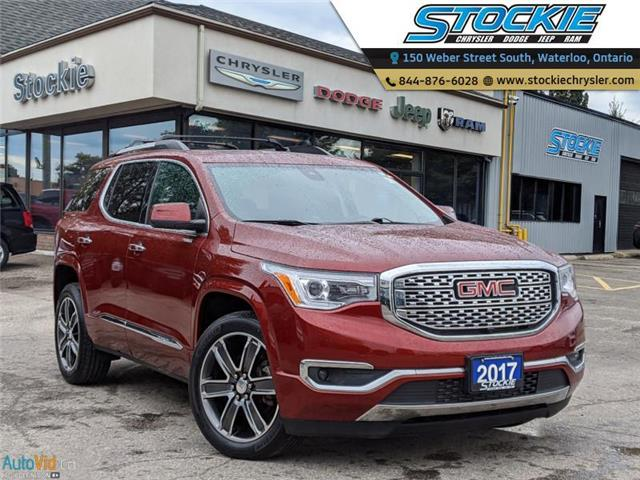 2017 GMC Acadia Denali (Stk: 35140) in Waterloo - Image 1 of 27