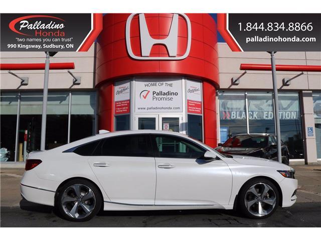2018 Honda Accord Touring (Stk: U9759) in Sudbury - Image 1 of 34
