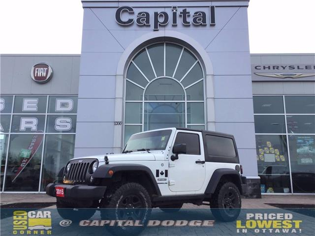2015 Jeep Wrangler Sport (Stk: L00362A) in Kanata - Image 1 of 1