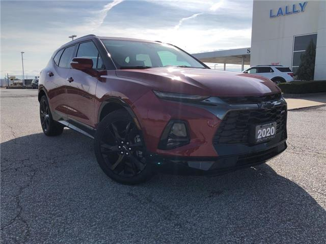 2020 Chevrolet Blazer RS (Stk: S10553R) in Leamington - Image 1 of 27