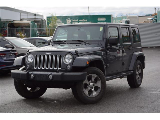 2017 Jeep Wrangler Unlimited Sahara (Stk: SM044A) in Ottawa - Image 1 of 25