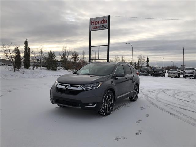 2018 Honda CR-V Touring (Stk: 20-084A) in Grande Prairie - Image 1 of 14