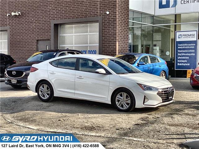 2019 Hyundai Elantra Preferred (Stk: H6118A) in Toronto - Image 1 of 28