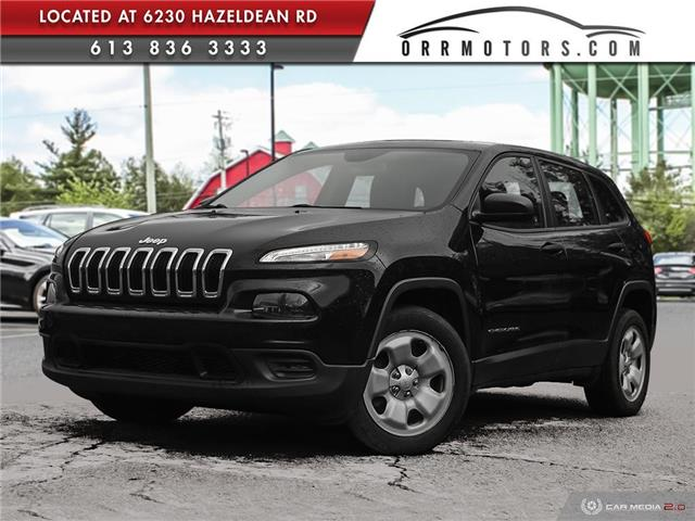 2016 Jeep Cherokee Sport (Stk: 6153) in Stittsville - Image 1 of 27