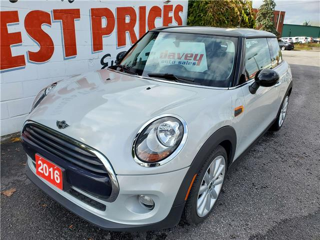 2016 MINI 3 Door Cooper (Stk: 20-527) in Oshawa - Image 1 of 12