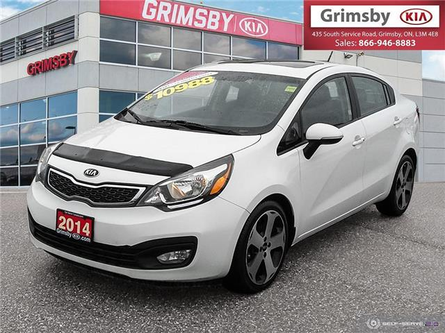 2014 Kia Rio SX only 76,000kms! Leather-Sunroof-Navigation! (Stk: U1854) in Grimsby - Image 1 of 25