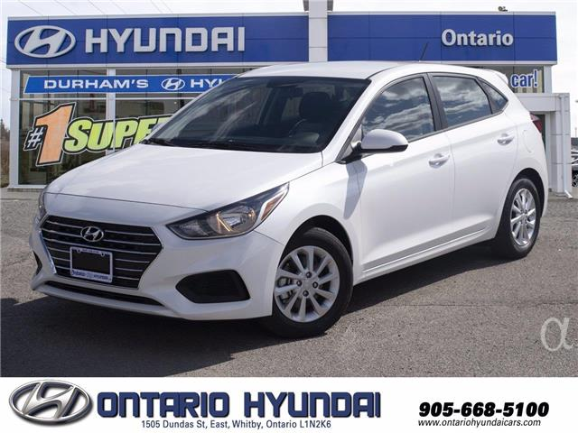 2020 Hyundai Accent Essential w/Comfort Package (Stk: 124653) in Whitby - Image 1 of 18