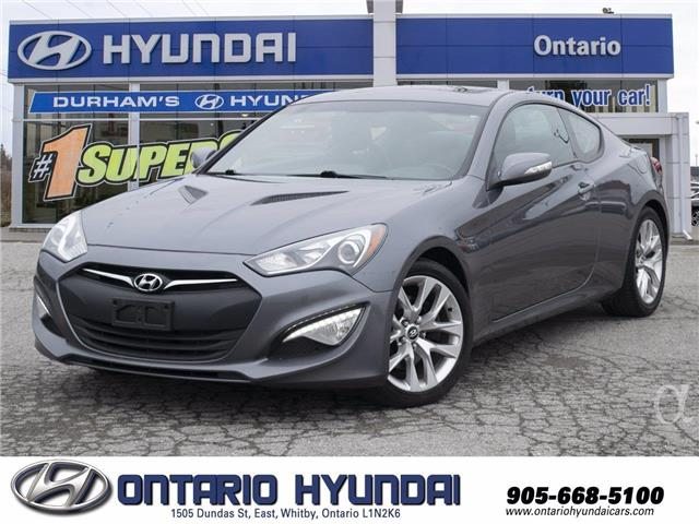 2016 Hyundai Genesis Coupe 3.8 GT (Stk: 35981K) in Whitby - Image 1 of 20