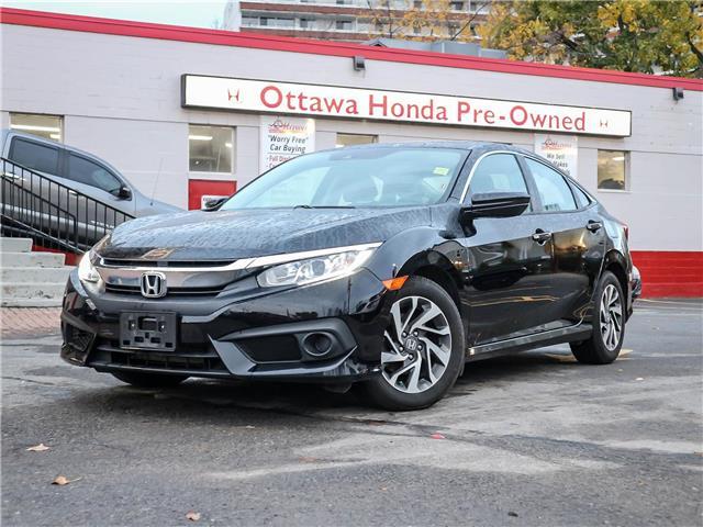 2018 Honda Civic EX (Stk: H86200) in Ottawa - Image 1 of 27