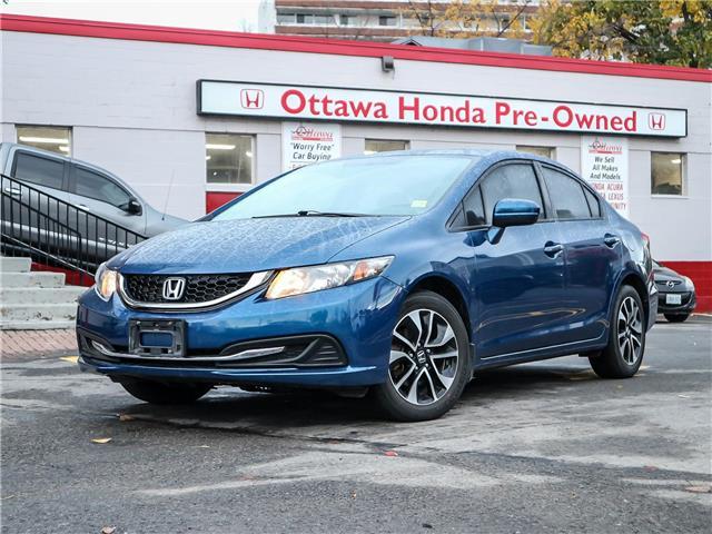 2014 Honda Civic EX (Stk: 332711) in Ottawa - Image 1 of 27