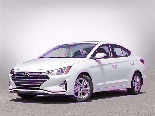 2020 Hyundai Elantra Preferred w/Sun & Safety Package (Stk: D01086) in Fredericton - Image 1 of 23