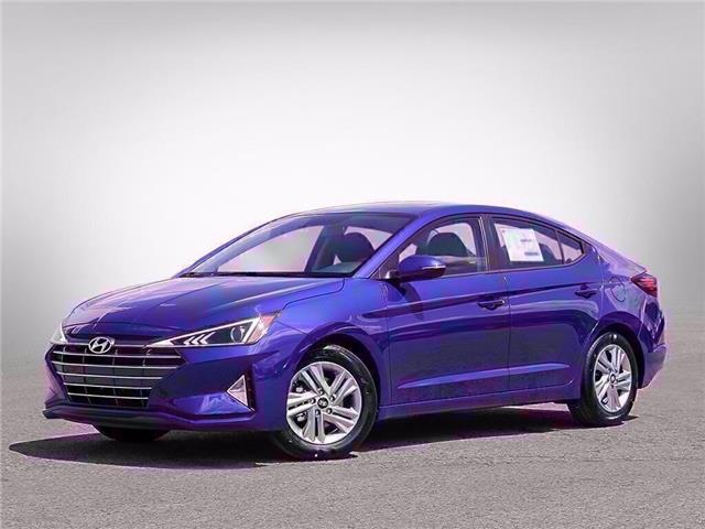 2020 Hyundai Elantra Preferred w/Sun & Safety Package (Stk: D01054) in Fredericton - Image 1 of 23