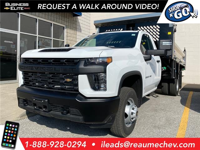 2020 Chevrolet Silverado 3500HD Chassis Work Truck (Stk: 20-0411) in LaSalle - Image 1 of 5