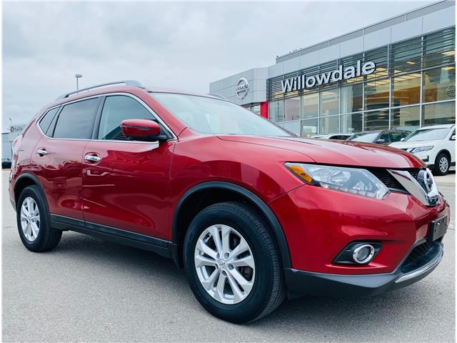2016 Nissan Rogue SV (Stk: N1012A) in Thornhill - Image 1 of 20