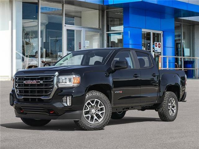2021 GMC Canyon AT4 w/Cloth (Stk: M055) in Chatham - Image 1 of 23