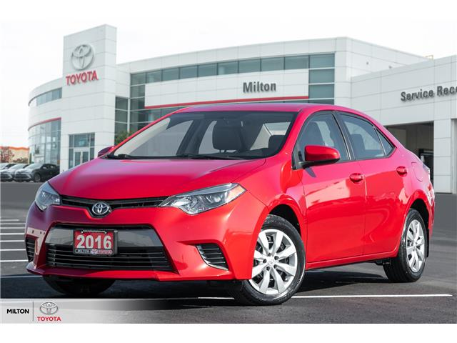 2016 Toyota Corolla LE (Stk: 548229) in Milton - Image 1 of 20