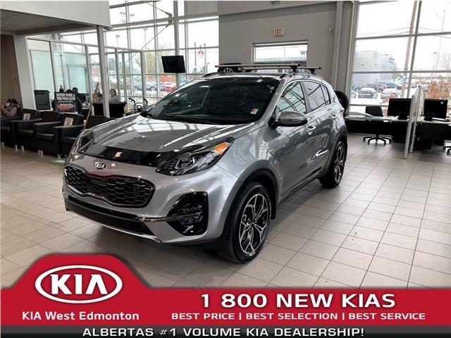 2021 Kia Sportage SX (Stk: 22587) in Edmonton - Image 1 of 21