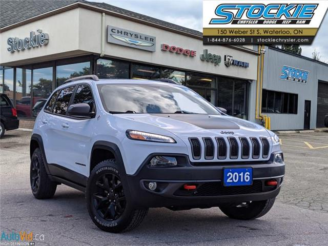 2016 Jeep Cherokee Trailhawk (Stk: 6154) in Waterloo - Image 1 of 27