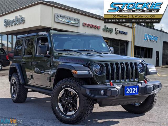 2021 Jeep Wrangler Unlimited Rubicon (Stk: 35147) in Waterloo - Image 1 of 16