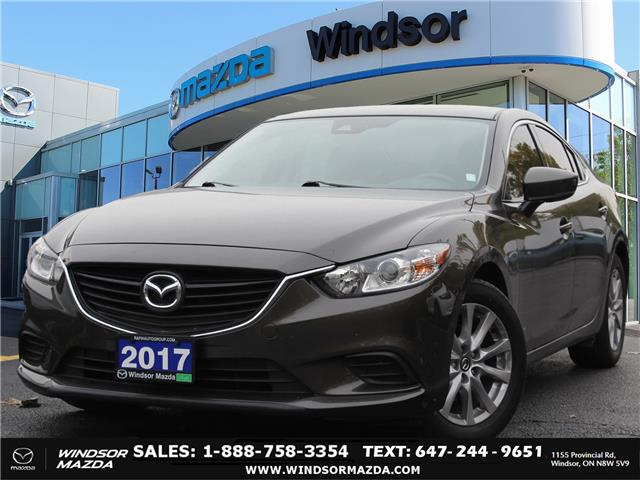 2017 Mazda MAZDA6 GS (Stk: TR8374) in Windsor - Image 1 of 25