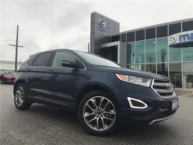 2017 Ford Edge Titanium (Stk: UM2482) in Chatham - Image 1 of 22