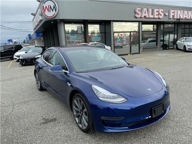2018 Tesla Model 3 Long Range Dual Motor All-Wheel Drive (Stk: 18-107713) in Abbotsford - Image 1 of 12