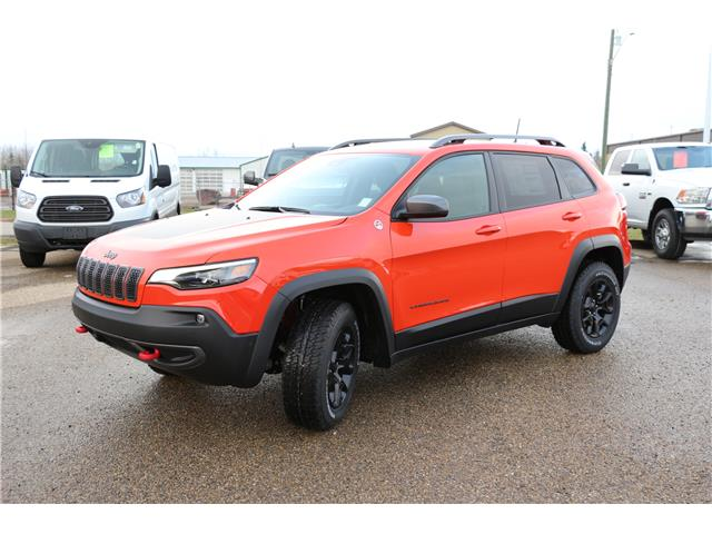 2021 Jeep Cherokee Trailhawk (Stk: MT007) in Rocky Mountain House - Image 1 of 22