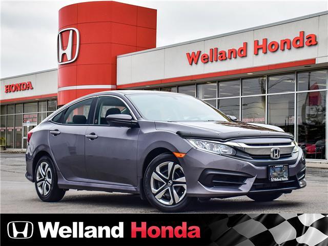 2017 Honda Civic LX (Stk: U20386) in Welland - Image 1 of 20