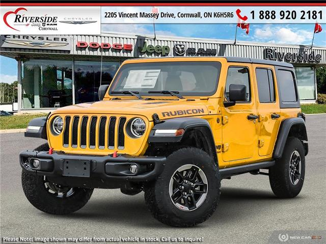 2021 Jeep Wrangler Unlimited Rubicon (Stk: N21016) in Cornwall - Image 1 of 23