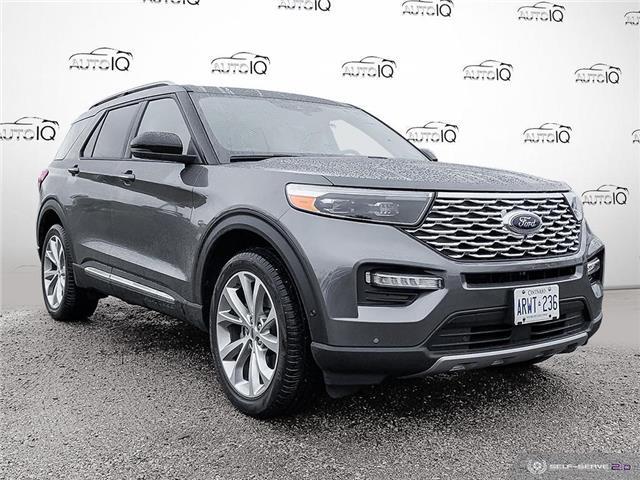 2021 Ford Explorer Platinum Grey