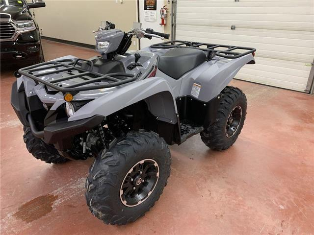 2021 Yamaha Grizzly EPS Armour Grey  (Stk: YQ21-21) in Nipawin - Image 1 of 12