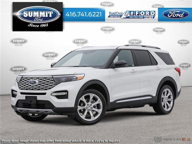 2021 Ford Explorer Platinum (Stk: 21T8158) in Toronto - Image 1 of 23