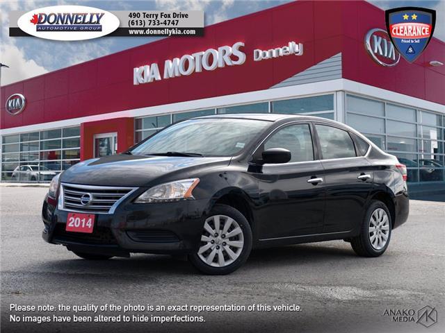 2014 Nissan Sentra  (Stk: KT413DTA) in Ottawa - Image 1 of 24