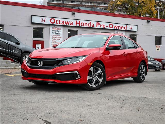 2019 Honda Civic LX (Stk: H85930) in Ottawa - Image 1 of 26