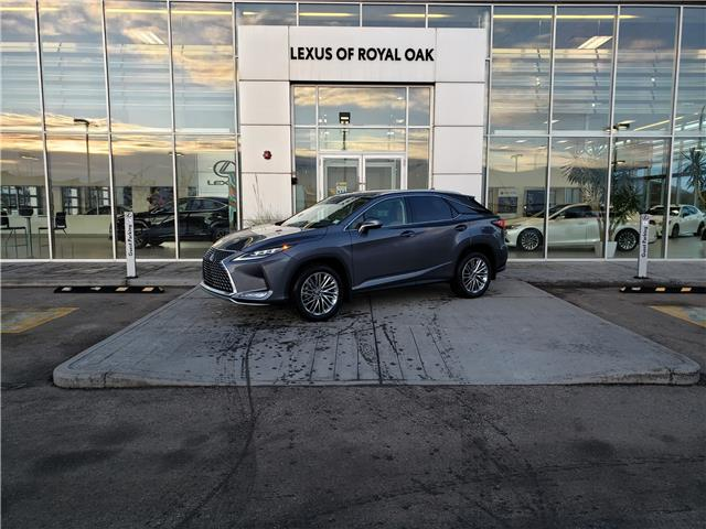 2021 Lexus RX 350 Base (Stk: L21075) in Calgary - Image 1 of 15