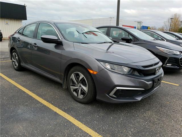 2019 Honda Civic LX (Stk: KH007466) in Sarnia - Image 1 of 5