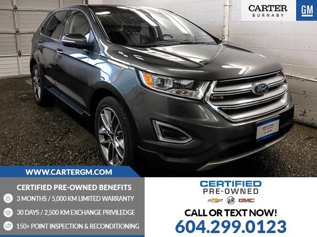 2016 Ford Edge Titanium (Stk: D1-69501) in Burnaby - Image 1 of 24