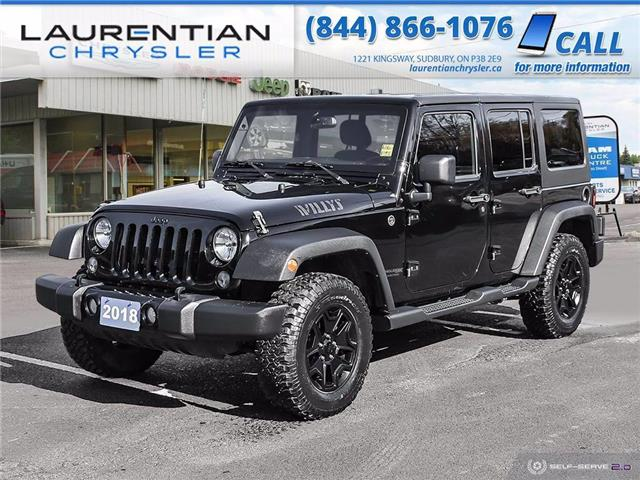 2018 Jeep Wrangler JK Unlimited Sport (Stk: P0160) in Sudbury - Image 1 of 24