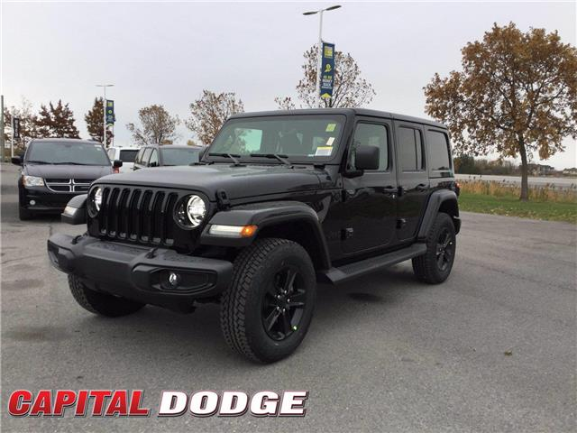 2021 Jeep Wrangler Unlimited Sahara (Stk: M00058) in Kanata - Image 1 of 21